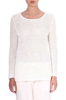 SURFACE TO AIR Waffle knit jumper