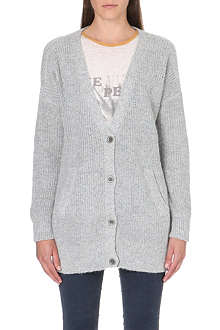 FREE PEOPLE Cloudy Day ribbed cardigan