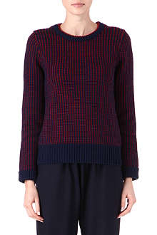 CARDIGAN Elbow patch jumper