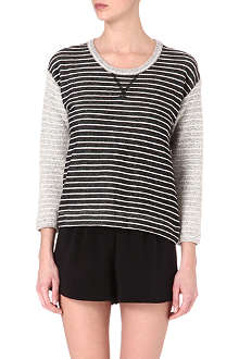 CARDIGAN Colette striped top