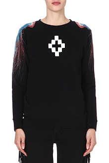MARCELO BURLON Devendra jellyfish-print sweatshirt