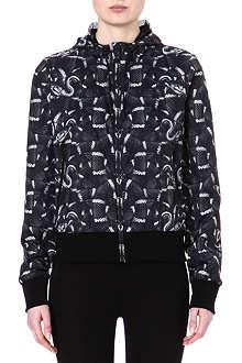 MARCELO BURLON Snake-print windbreaker jacket