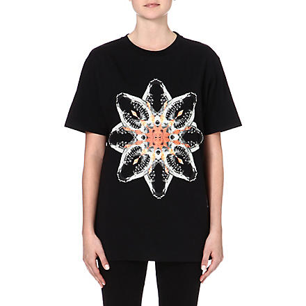 MARCELO BURLON Graphic-printed t-shirt (Black
