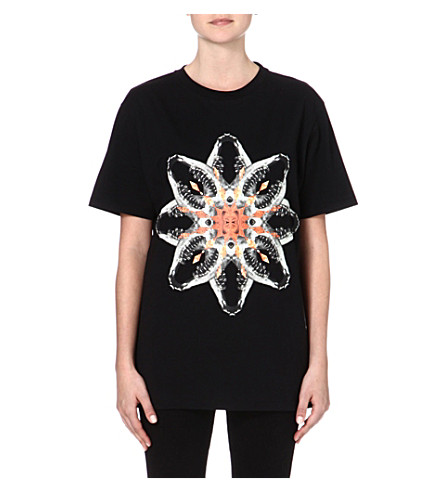 MARCELO BURLON Graphic-printed t-shirt (Black