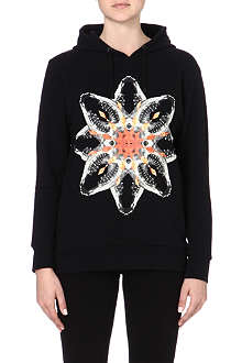 MARCELO BURLON Graphic-printed hoody