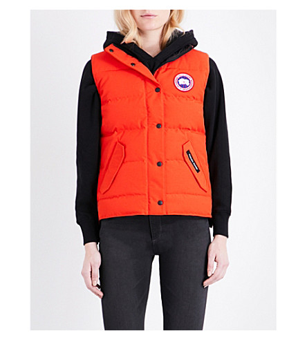CANADA GOOSE Freestyle quilted gilet (Red