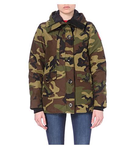 CANADA GOOSE Rideau padded parka jacket (Classic+camo