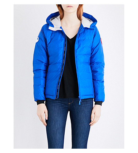 CANADA GOOSE Camp quilted jacket (Royal blue