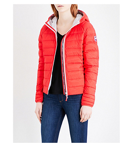CANADA GOOSE Brookvale quilted shell jacket (Fuschia