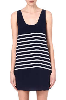 JOIE Silk stripe dress