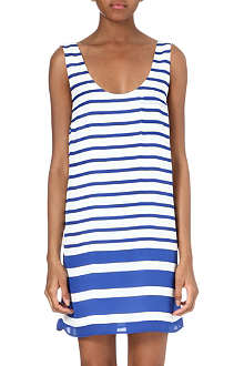 JOIE Dawna striped silk dress