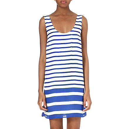 JOIE Dawna striped silk dress (Multicoloured