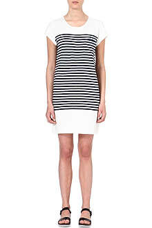 JOIE Courtina striped cotton dress