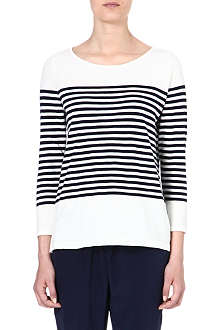 JOIE Abina striped cotton top