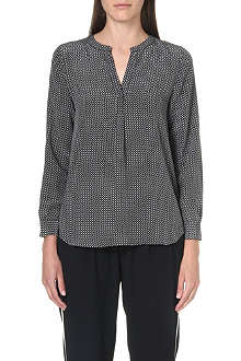 JOIE Peterson printed silk blouse