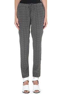 JOIE Marda silk trousers