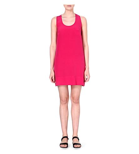 JOIE Silk peri b dress (Bouganvillea