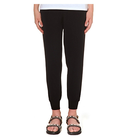 JOIE Celinda crepe trousers (Caviar w/ new moon