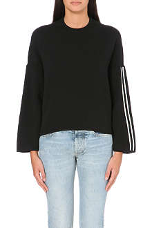 GOLDEN GOOSE Knitted stripe jumper