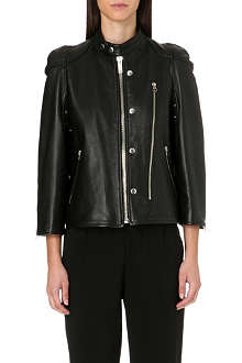 GOLDEN GOOSE Alma leather jacket