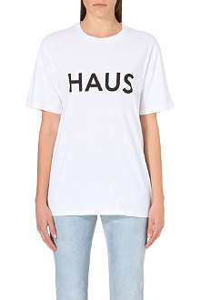 GOLDEN GOOSE Haus cotton-jersey t-shirt