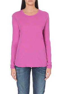 JAMES PERSE Cotton long-sleeved top