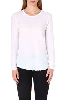 JAMES PERSE Cotton long sleeve top