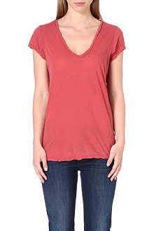 JAMES PERSE V-neck cotton t-shirt