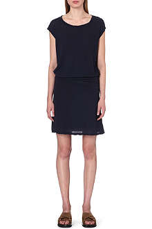 JAMES PERSE Cotton cap-sleeve dress