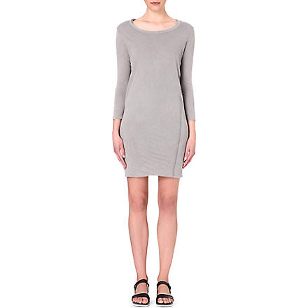 JAMES PERSE Linen-blend dress (Shadow