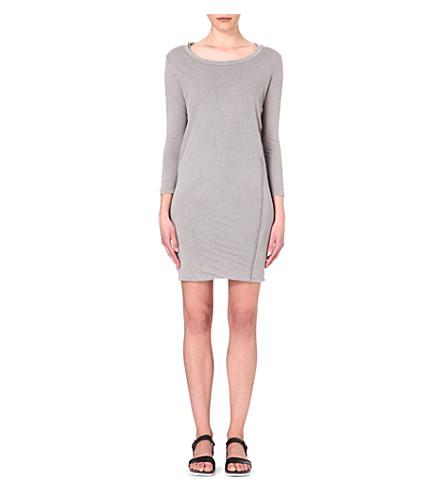 JAMES PERSE Linen-blend dress (Shadow