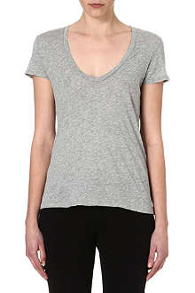 JAMES PERSE Printed round-neck t-shirt