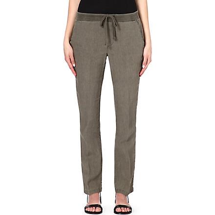 JAMES PERSE Linen trousers (Safari