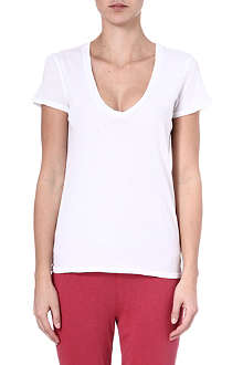 JAMES PERSE Printed cotton t-shirt