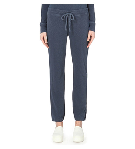 JAMES PERSE Genie cotton jogging bottoms (Deep