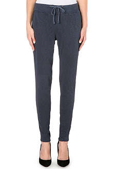JAMES PERSE Slim cotton-jersey jogging bottoms