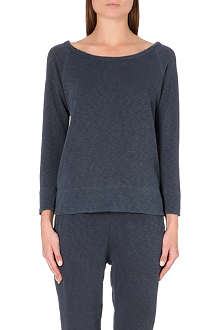 JAMES PERSE Raglan cotton-jersey top