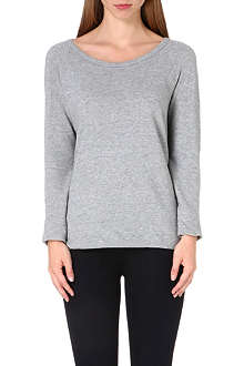 JAMES PERSE Raglan sleeve cotton top