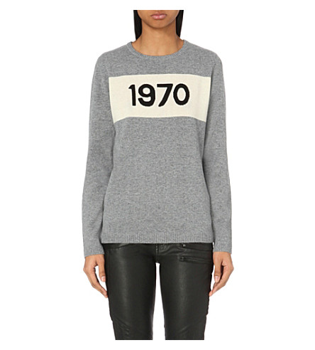 BELLA FREUD 1970 cashmere jumper (Grey