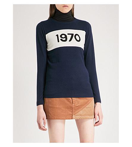 BELLA FREUD 1970 cashmere jumper (Navy