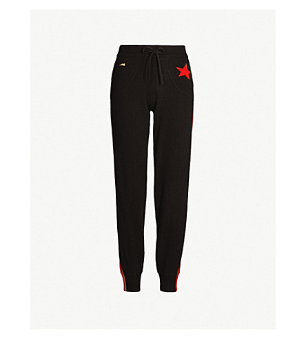 BELLA FREUD Billie cashmere jogging bottoms (Black