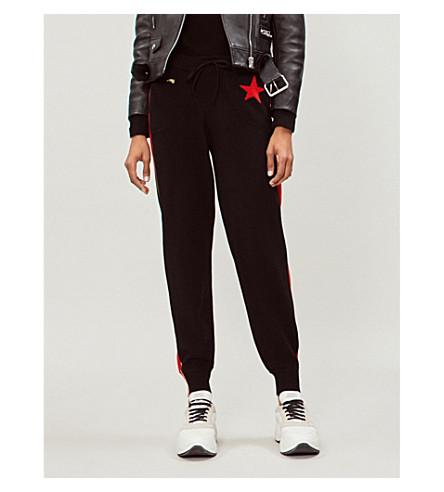 BELLA FREUD Billie cashmere jogging bottoms (Black