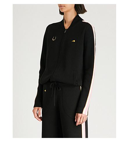 BELLA FREUD Race wool jacket (Black