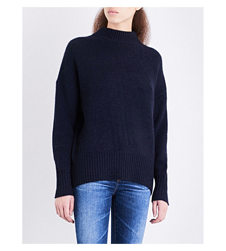 360 CASHMERE Sharina turtleneck cashmere jumper (Midnight