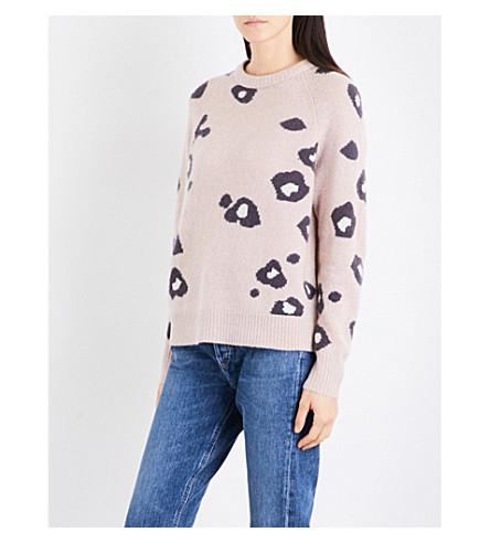 360 CASHMERE Courtney cashmere jumper (Rose+quartz