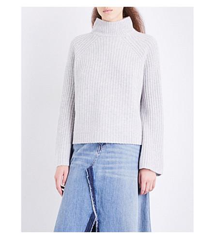 360 CASHMERE Baylee turtleneck cashmere jumper (Mist