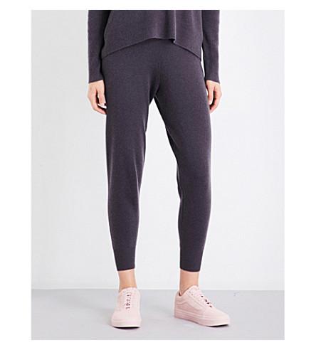 360 CASHMERE Isabella cashmere jogging bottoms (Cement