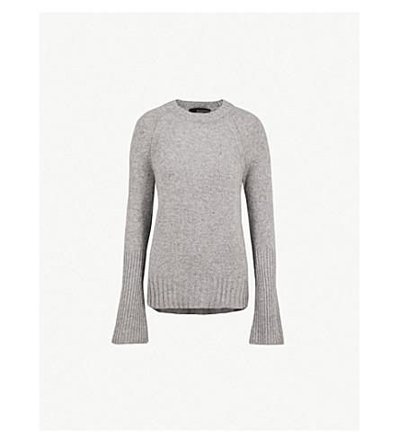 360 CASHMERE Maikee cashmere jumper (Mid+heather+grey