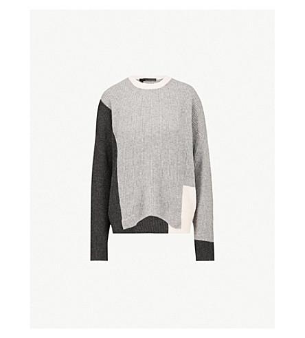 360 CASHMERE Akima cashmere jumper (Graphite/hgry/buff
