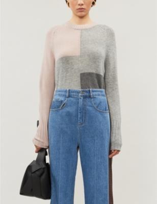 Wren wool and cashmere-jumper